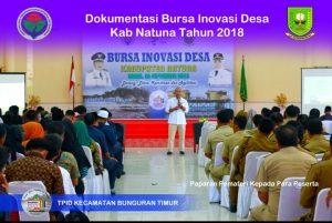 KEGIATAN BURSA INOVASI DESA DI KAB NATUNA TAHUN 2018