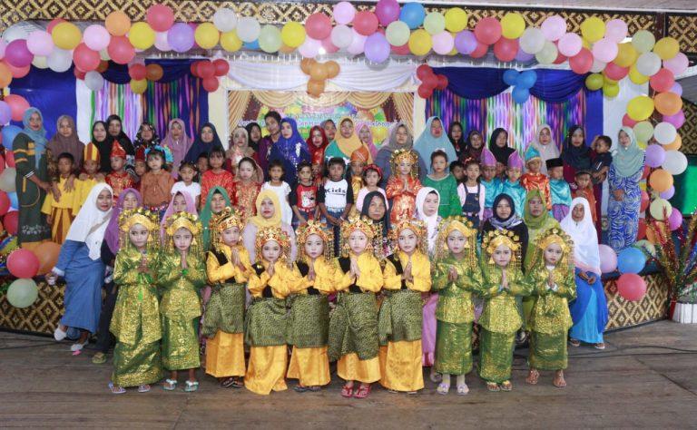 TK NEGERI 002 BUNGURAN TIMUR LEPAS 37 PESERTA DIDIK